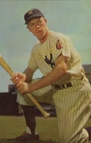 Gil McDougald - McDougald in about 1953.