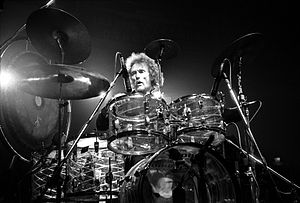 Cream (band) - Ginger Baker at the drumkit