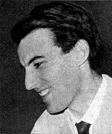 Photograph of Giorgio Gaslini in his late twenties