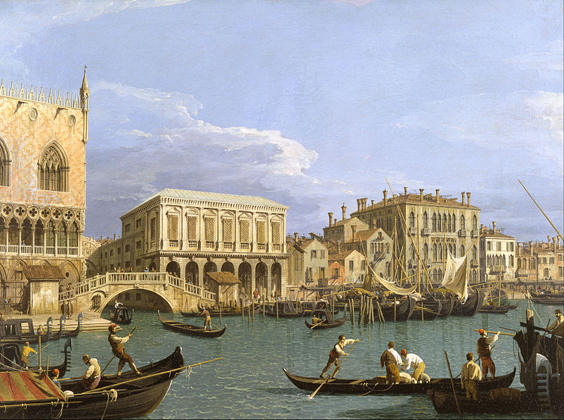 File:Giovanni Antonio Canal, called Canaletto - View of the Riva degli Schiavoni, Venice - Google Art Project.jpg