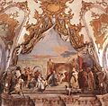 Giovanni Battista Tiepolo - The Investiture of Herold as Duke of Franconia - WGA22320.jpg