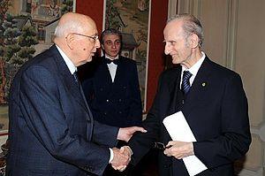 Giovanni Conso - Image: Giovanni Conso Napolitano