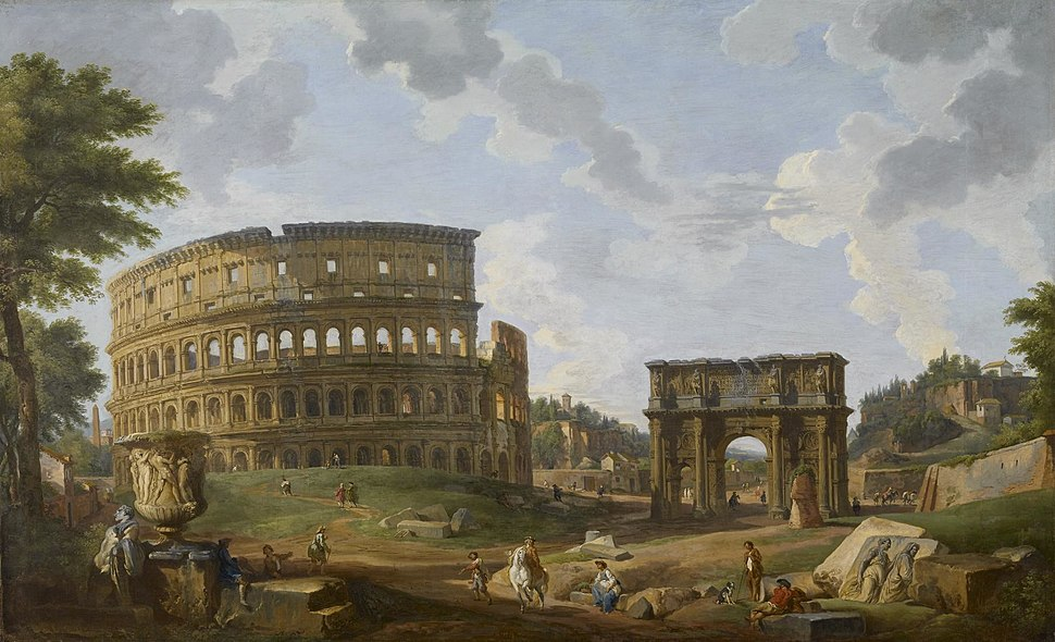 Giovanni Paolo Panini - View of the Colosseum - Walters 372367
