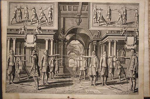 Girard Thibault - Academie de l-Espee 1628 Met. museum