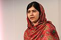 Girls' education rights campaigner and Nobel Peace Prize winner, Malala Yousafzai at Girl Summit 2014 (14714344864).jpg