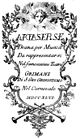 Girolamo Abos - Artaserse - titlepage of the libretto - Venedig 1746.jpg
