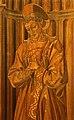 Giuliano da maiano e alesso baldovinetti, tarsie della sagrestia delle messe, 1436-1468, 02 ss. eugenio, zanobi e crescenzio 7.jpg