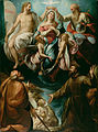 Giulio Cesare Procaccini (Italian (Bolognese) - Coronation of the Virgin with Saints Joseph and Francis of Assisi - Google Art Project.jpg