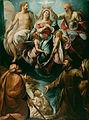 Giulio Cesare Procaccini (Italian (Bolognese) - Coronation of the Virgin with Saints Joseph and Francis of Assisi - Google Art Project.jpg