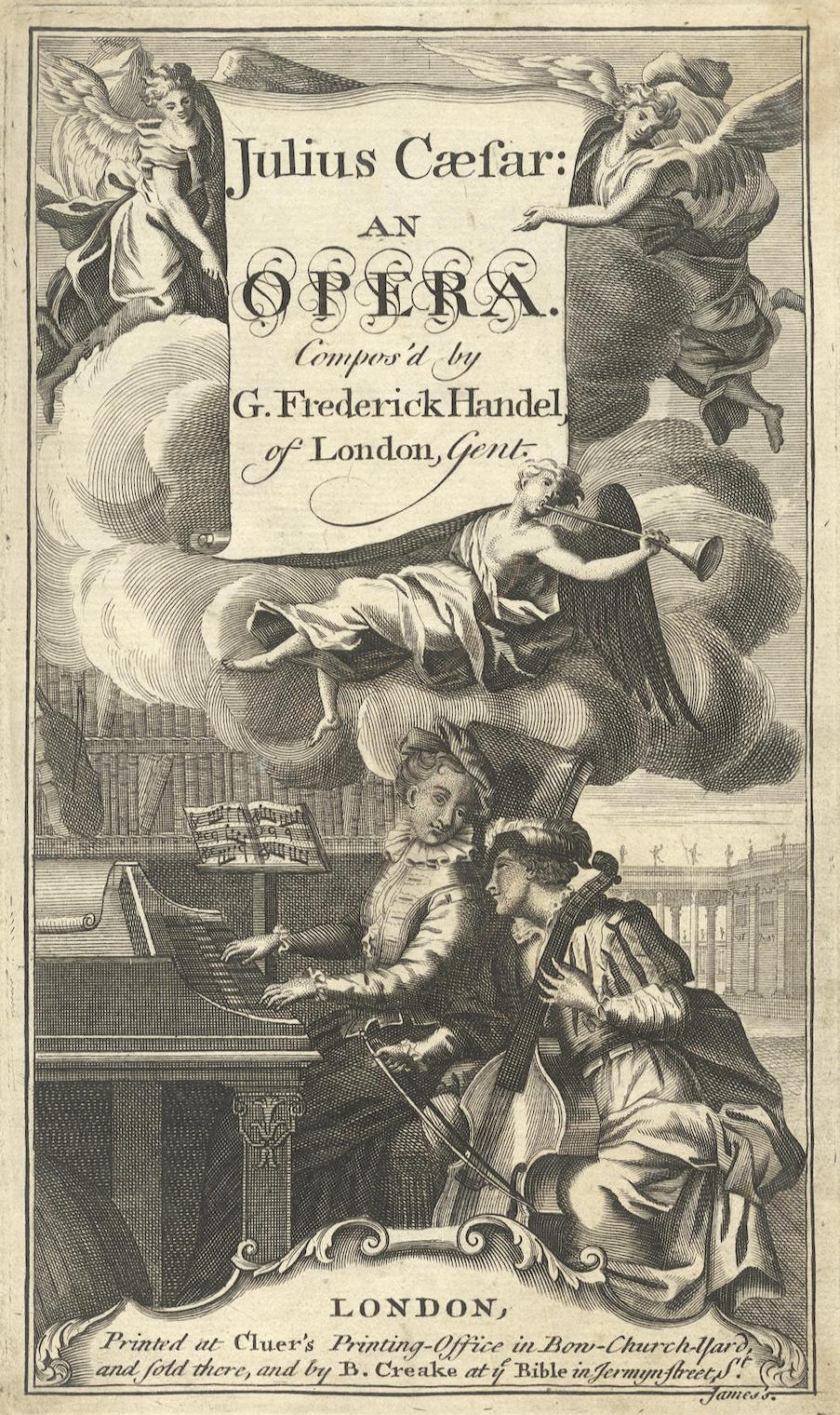 Giulio Cesare opera