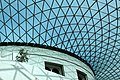 Glass and steel roof of the Great Court, British Museum, London - panoramio (17).jpg