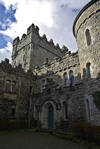 Glenveagh Castle - Image: Glenveagh Castle 2