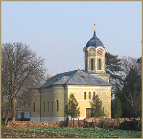 L'église orthodoxe roumaine de Glogonj