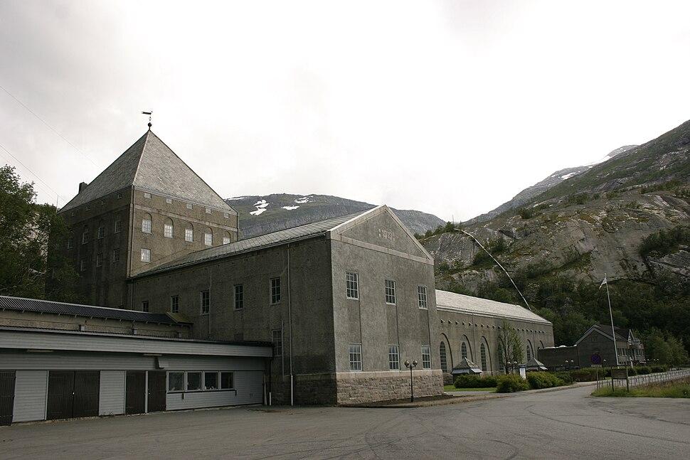 Glomfjord hydroelectric power plant