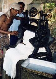 India rubber production in Goa (Salcete)