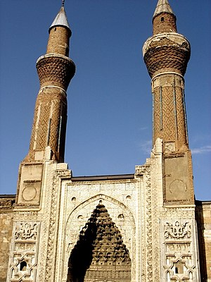 Sultanate of Rum - Gök Medrese (Celestial Madrasa) of Sivas, periodic capital of the Sultanate of Rum