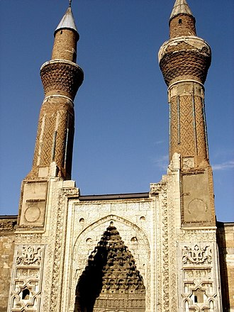 Sivas - Gök Medrese, built by the Seljuk Turks