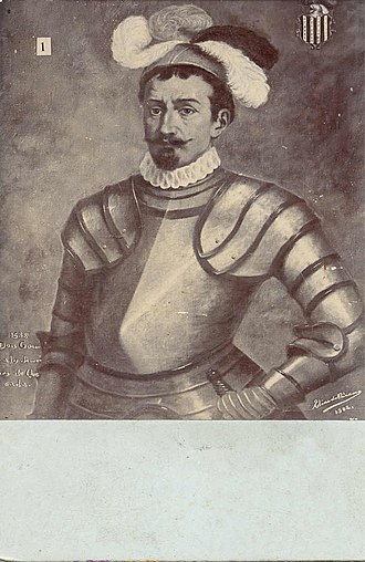 Zoratama - Gonzalo Jiménez de Quesada, conquistador who ordered the exile of Zoratama and her lover Lázaro Fonte