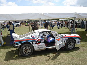Silhouette racing car