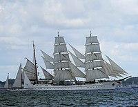 Sail training ship Gorch Fock