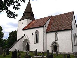 Boge Church - Image: Gotland Boge kyrka Außen