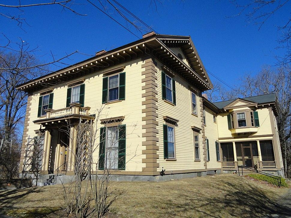 Gov. George S. Boutwell House, Groton MA - DSC04081