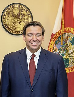 Ron DeSantis 46th governor of Florida