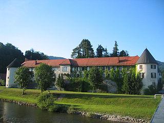 Nazarje Town in Styria, Slovenia
