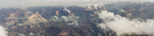 Grand Canyon Mather Point Cloudy Panorama 2013.jpg
