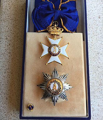 Order of Adolphe of Nassau - Image: Grand Cross Order Adolphe of Nassau Luxembourg AEA Collections