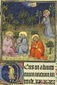 Grandes Heures de Jean de Berry - Mont des oliviers et suicide de Judas (fol. 65).jpg
