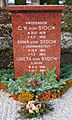 Grave of swedish professor Carl Wilhelm von Sydow lund sweden.jpg