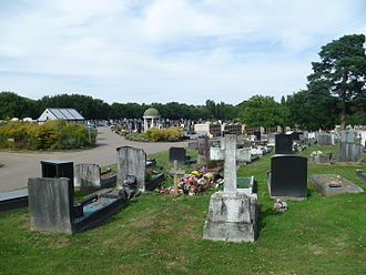 New Southgate Cemetery - View of the cemetery