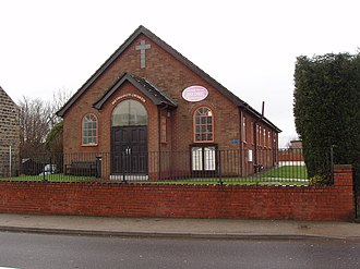 Great Houghton, South Yorkshire - Image: Great Houghton Methodist Church geograph.org.uk 338323