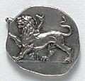 Greece, Peloponnesus, 4th century BC - Drachma- Chimera (obverse) - 1917.979.a - Cleveland Museum of Art.jpg