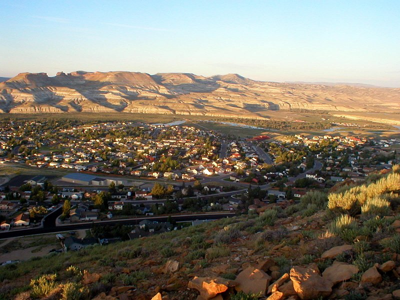 File:Green River Wyoming from South Mountain.jpg