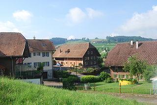 Grossdietwil Place in Lucerne, Switzerland