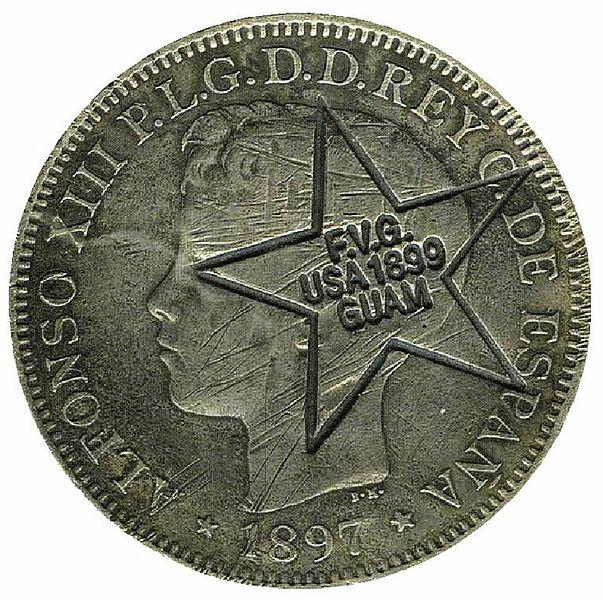 Monedas Españolas de las Filipinas 603px-Guam_coin_2013_derivate_000