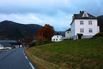 Brekke (village) - View of Brekke