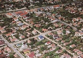 Gyál - Aerialphotography of Gyál