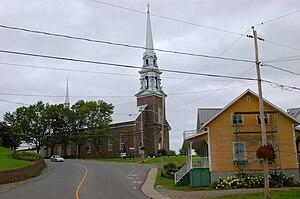 Hébertville, Quebec - Image: Hébertville Québec