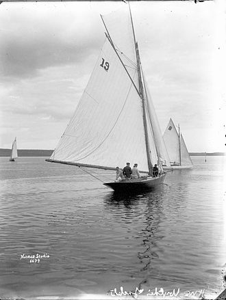 William Fife - Youla, a 26-foot cutter designed by William Fife, was built by Reuben Harlow in Dartmouth, Nova Scotia, Canada