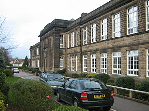 Harrogate Grammar School - The main 1933 building