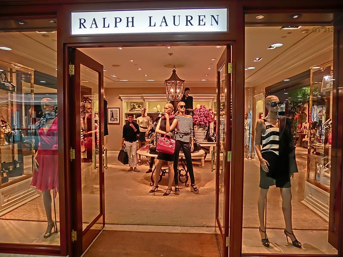 quality design 60a4e 99613 Ralph Lauren Corporation - Wikipedia