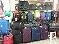 HK CWB 銅鑼灣 Causeway Bay 摩頓台 Moreton Terrace 灣景商場 Bay View Shopping Arcade interior shop bags luggage July 2019 SSG 03.jpg