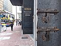 HK SW 上環 Sheung Wan 德輔道中 136 Des Voeux Road Central BOCG Insurance Tower Bank of China Bank after the war lockers January 2020 SSG.jpg
