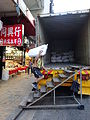 HK Sai Ying Pun Des Voeux Road West Seafood Street Cargo temp stairs Logistics manforce labour at work Dec-2015 (2).JPG