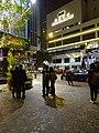 HK Wan Chai night Lee Tung Avenue Queen's Road East Dec-2015 DSC Hopewell Centre.JPG