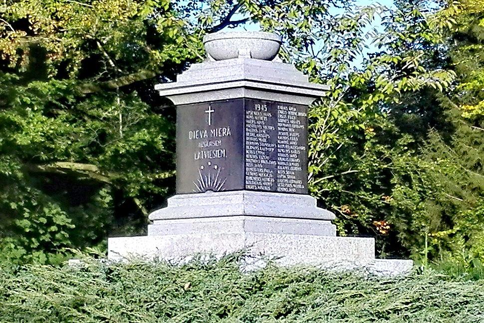 HL Damals – Vorwerker Friedhof – Lettische Kriegsgräberstätte – 2