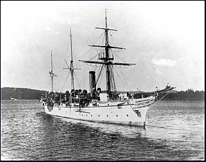 HMS Algerine at Esquimalt